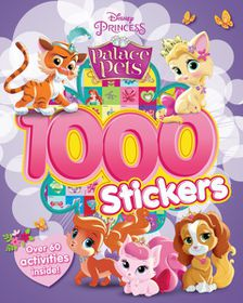 Disney Palace Pets 1000 Sticker & Activity Book