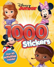 Disney Junior 1000 Sticker & Activity Book