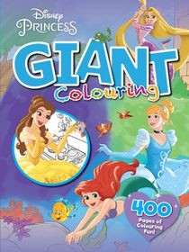 Disney Princess 400 Page Giant Colouring Book
