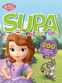 Disney Sofia The First 200 Page Supa Colour & Activity Book