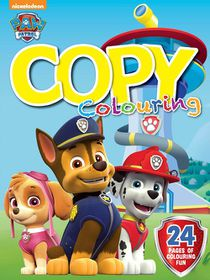 Paw Patrol 24 Page Copy Colour Book