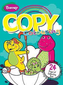 Barney 24 Page Copy Colour Book