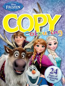 Disney Frozen 24 Page Copy Colour Book