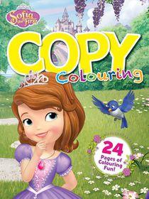 Disney Sofia The First 24 Page Copy Colour Book