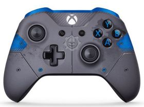 Xbox One Controller Branded GOW 4 - Blue & Grey (Xbox One)