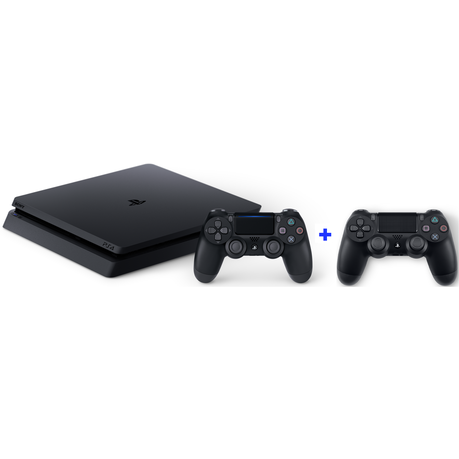 Playstation 4 1TB Slim Console + Extra Controller (PS4)
