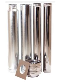 Megamaster - Stainless Steel Kit - Silver