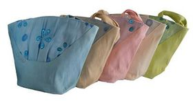Fino Weave Woven Straw Beach Shopping Tote Handbag 5 Piece CJ05682-1