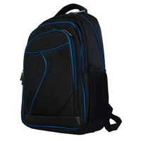 "Fino 15"" Laptop Backpack With Blue Piping SK9029"