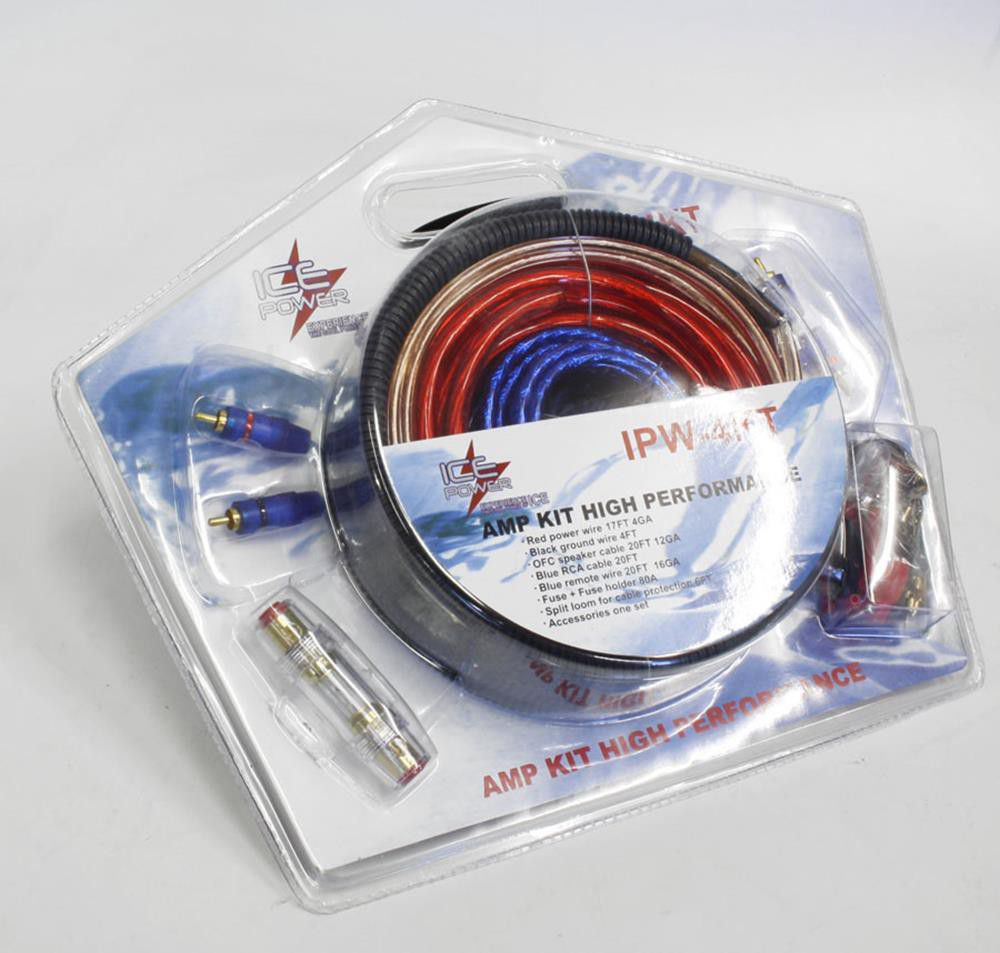 Ice Power 4 Gauge Wiring Kit | Buy Online in South Africa | takealot.com