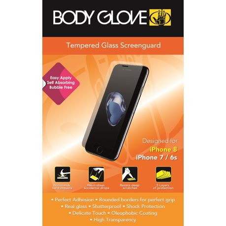 Body Glove Tempered Glass Screen guard for iPhone 8/7/6s