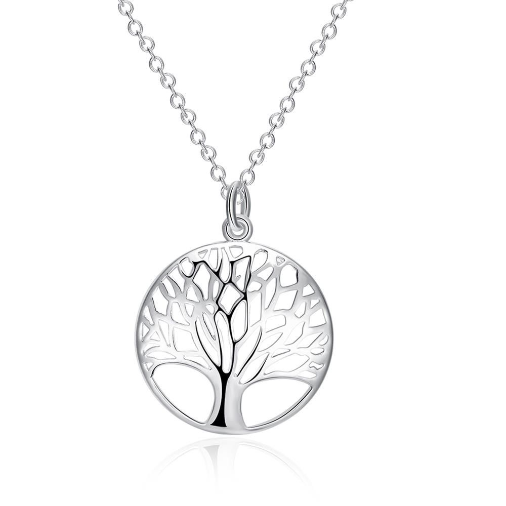 necklace pendant sterling product silver lincoln tree of cathedral life