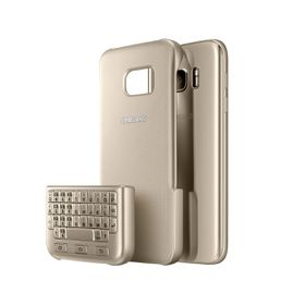 Samsung S7 Edge Keyboard Cover Gold