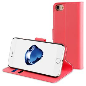 Muvit Folio Wallet For iPhone 7 - Pink