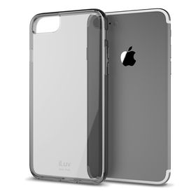 iLuv Vyneer Transparent Case iPhone 7 - Black