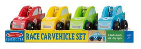 Melissa And Doug Race Car Vehicle Set