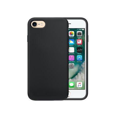 check out 55067 dba72 Black Frost Protective TPU Gel Cover Case for iPhone 7 (4.7 inch)