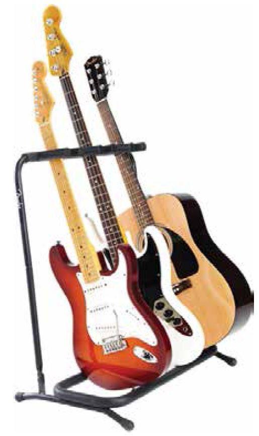 fender multi folding guitar stand 3 guitars buy online in south africa. Black Bedroom Furniture Sets. Home Design Ideas