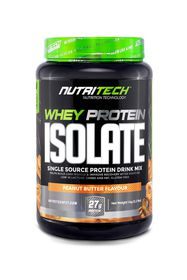 Nutritech Whey Protein Isolate - Peanut Butter - 1kg