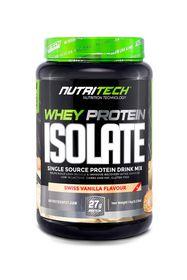 Nutritech Whey Protein Isolate - Swiss Vanilla