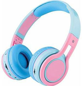 Bluetooth Headset with SD Player KB-2600 - Blue & Pink