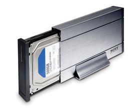 PORT HDD Enclosure Sata plus Ide 3.5'' - Grey