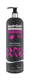 Shampooheads Professional Strawberry Kiss Daily Shampoo - 500ml