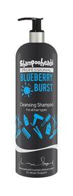 Shampooheads Professional Blueberry Burst Cleansing Shampoo - 500ml
