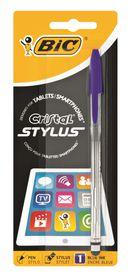 BIC Cristal Stylus Ballpoint Pen - Blue Ink
