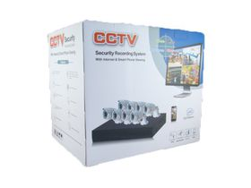 TMT 8 Channel CCTV Set