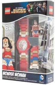 Lego Mini Fig Kids Watch Wonder Woman