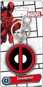 Marvel Deadpool Coloured Pewter Logo Key Ring