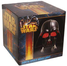 Star Wars Darth Vader - 3D Mood Light - Black Head - (UK plug) Small