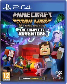 Minecraft Story Mode: The Complete Adventure  (PS4)