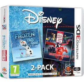 Disney Double Pack Frozen / Big Hero 6  (3DS)