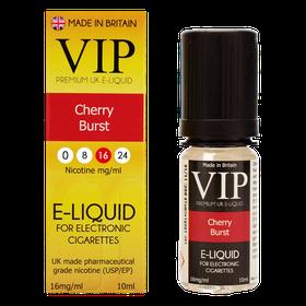VIP E-Cigarettes 10ml Cherry Burst - 16mg