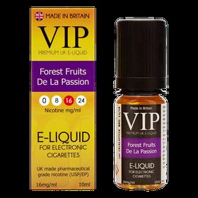 VIP E-Cigarettes 10ml Forest Fruit De La Passion - 16mg