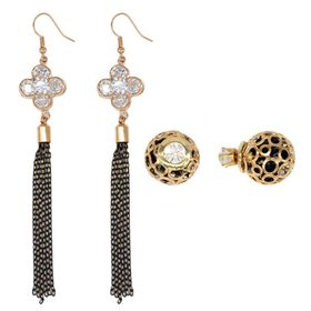 Lily & Rose Two Pack Earring Set - TLSET006