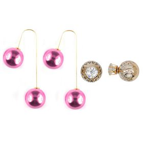 Lily & Rose Two Pack Earring Set - TLSET015