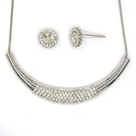 Lily & Rose Necklace & Earring Pack - TLSET032