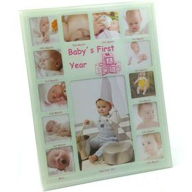 Pamper Hamper - Frame Baby's First Year - White