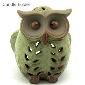 Pamper Hamper - Porcelain Owl Decor - White