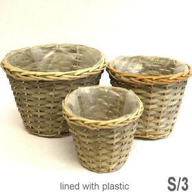 Pamper Hamper - Basket Set Of 3 - Grey