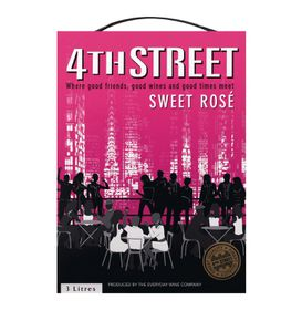 4th Street - Natural Sweet Rose - 3 Litre