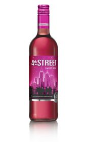 4th Street - Natural Sweet Rose - 750ml