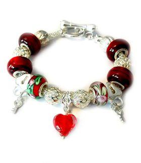 URBAN Charm Gemmabella European Charm Bracelet - Forever Love