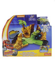 Blaze And The Monster Machines Deluxe - Slam and Crash Reg
