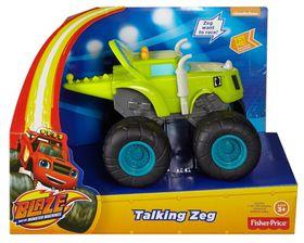 Blaze And The Monster Machines Talking Vehicle - Zeg