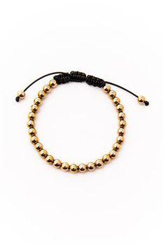Vitaly Men's Stratos x Gold Bracelet B706-STR-G