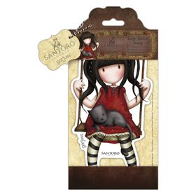 Docrafts Gorjuss Large Rubber Stamp - Ruby